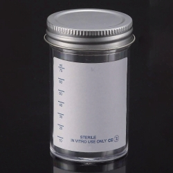 Search LLG (9787)-LLG-Sample containers, PS, with metal cap, sterile
