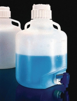 Search Thermo Elect.LED GmbH (Nalge) (169)-Aspirator Carboys Nalgene™, Type 2319, 2250, with handle, PP