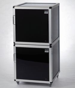Search Bohlender GmbH (1230)-Desiccators Maxi 1-Black/Protect and Maxi 2-Black/Protect, PMMA