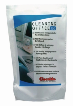 Search LLG (923)-Cleaning Office, technical cleaning cloths with alcohol