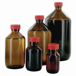 Search Behr Labor-Technik GmbH (2282)-Narrow-mouth bottles, Glass, clear or amber, PTFE-lined screw caps