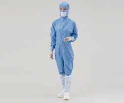 Search As One Corporation (6549)-Overall for cleanroom ASPURE, polyester, with pen pocket