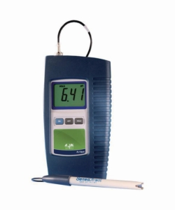 pH-meter AL10pH WWW-Interface