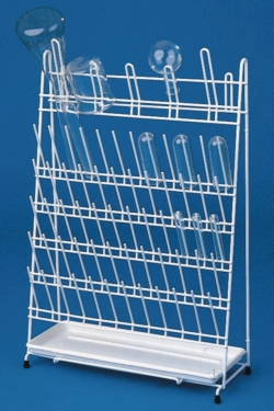 Draining racks, PE-coated wire LLG WWW-Catalog