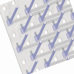 Pegs for LaboPlast® draining racks LLG WWW-Catalog