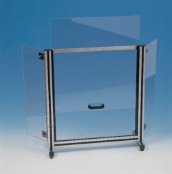Laboratory safety shield,  Polycarbonat® LLG WWW-Catalog