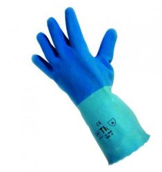 Latex gloves Pro-Fit 6240, super blue LLG WWW-Catalog
