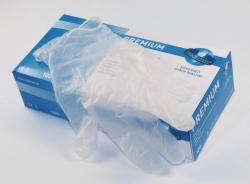Disposable Gloves Premium, Vinyl, Powder-Free LLG WWW-Catalog