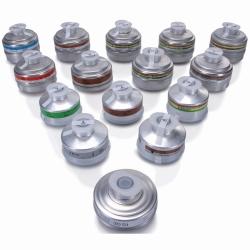 Filtre de protection des voies respiratoires, avec raccord à filetage pour Masque BRK 820 WWW-Interface