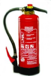 Powder fire extinguisher LLG WWW-Catalog
