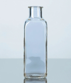 Bottles, glass, square LLG WWW-Catalog