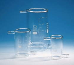 Beakers, glass, jacketed, type T LLG WWW-Catalog