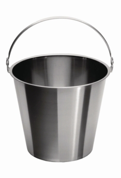Buckets, 18/10 steel LLG WWW-Catalog