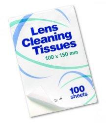 Papier de nettoyage pour lentilles WWW-Interface