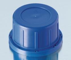 Originalitätsverschlüsse für Kalk-Soda Vierkant-Schraubflaschen, PP LLG WWW-Katalog