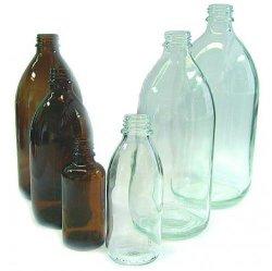 Enghalsflaschen, Kalk-Soda Glas LLG WWW-Katalog