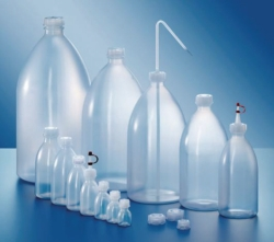 Narrow-mouth bottles, series 301, PE-LD LLG WWW-Catalog