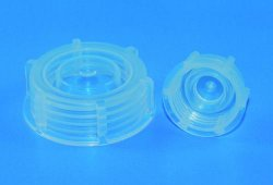 Spare screw caps for series 307 medium neck bottles, PP LLG WWW-Catalog