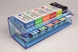 Etikettenspender, Acryl für Tough-Tags® / Cryo-Babies® / Tough-Spots® LLG WWW-Katalog