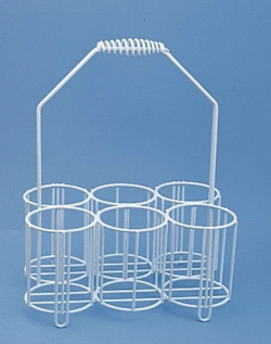 Bottle carriers, wire/PE