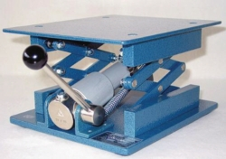 Laboratory jacks with hydraulic drive, stainless steel LLG WWW-Catalog