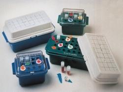 Portoir réfrigéré Labtop-Cooler, type 5115, 5116, DS5116, pour microtubes WWW-Interface