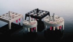 Schwimmende Gestelle für Kryoröhrchen, Typ 5974, PP LLG WWW-Katalog