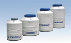 Cryogenic storage tanks, BR 2000 series with drawers LLG WWW-Catalog
