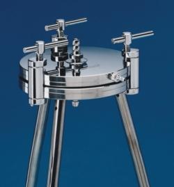 Drukfiltratieapparaat, roestvast staal WWW-Interface