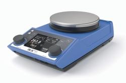 Agitateur magnétique RET® control-visc avec chauffage et balance intégrés WWW-Interface