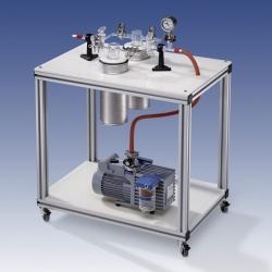 Chemiepumpstand CP1 - CP2, fahrbar LLG WWW-Katalog