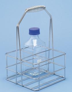 Flaschenträger für DURAN-Vierkantflaschen LLG WWW-Katalog