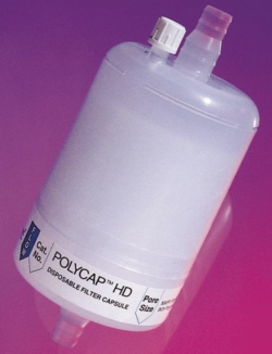 Disposable filtration capsules, Polycap HD™, PP LLG WWW-Catalog