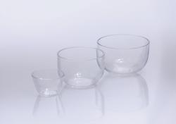 Tiegel, Quarzglas, mittelhoch LLG WWW-Katalog
