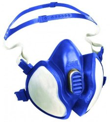 Halbmaske Serie 4000 Plus, Ready to use