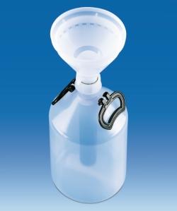 Bidón para residuos químicos, PE/PP WWW-Interface