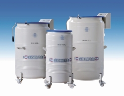 Cryogenic storage tanks, LO 2000 series with drawers LLG WWW-Catalog