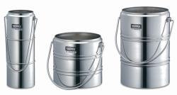 Chrome steel Dewar flasks LLG WWW-Catalog