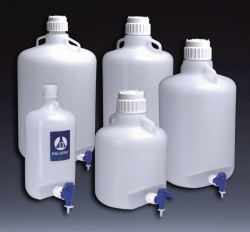 Aspirator carboys, PE-LD