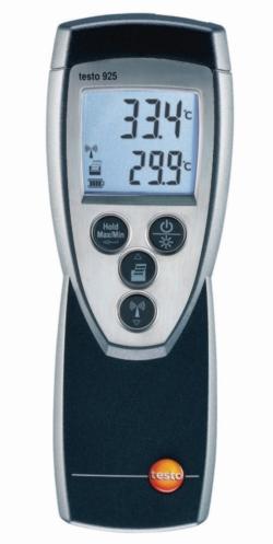 Thermomètre numérique universel Testo 922 WWW-Interface