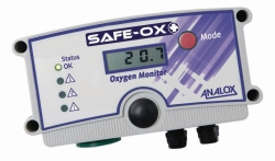 Gasdetectoren Safe-Ox+™ WWW-Interface