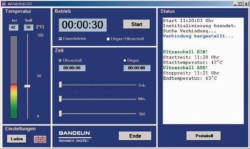 Remote control WINSONIC® DT for Sonorex Digitec ...-RC ultrasonic baths LLG WWW-Catalog