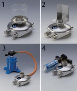 Accessoires pour Bec de sécurité au gaz schuett phoenix II WWW-Interface
