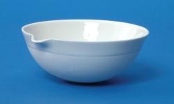 Capsule à évaporation LLG en porcelaine, avec bec verseur, à fond arrondi, forme semi profonde WWW-Interface