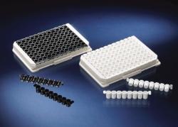 Module Immuno LockWell, PS, abbrechbar, weiß und schwarz
