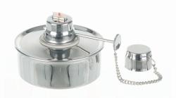 Spirit burner, 18/10 stainless steel