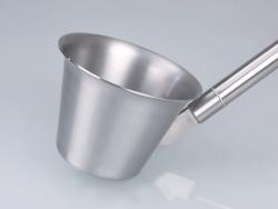 Scoop, stainless steel V2A, sterilisable