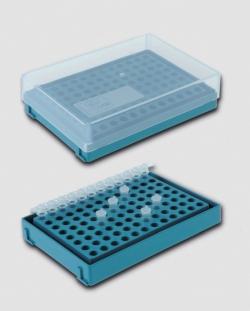 96-Well PCR Rack, HDPP WWW-Interface
