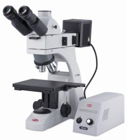 Gehobenes Mikroskop für Industrie und Materialanalyse BA310 MET LLG WWW-Katalog