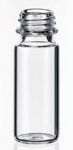 Viales de rosca corta ND9 LLG, orificio ancho, SureStop™